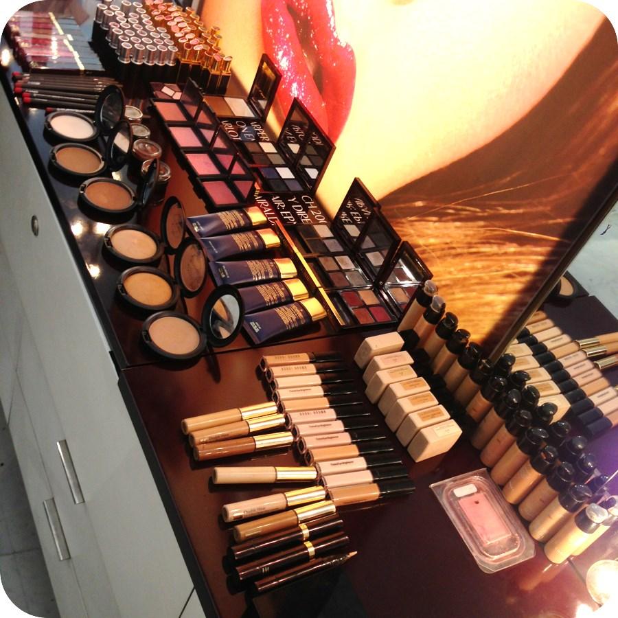 building a makeup bag