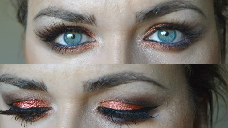 Makeup Look Making Blue Eyes Pop Laura Louise Makeup Beauty