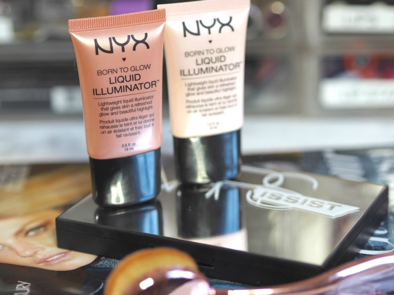 NYX Born to Glow liquid illuminators
