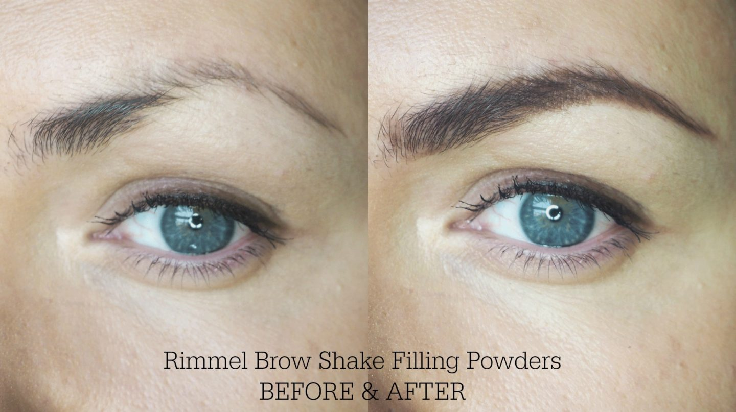 New Rimmel Brow Shake Filling Powders Review Swatches Before