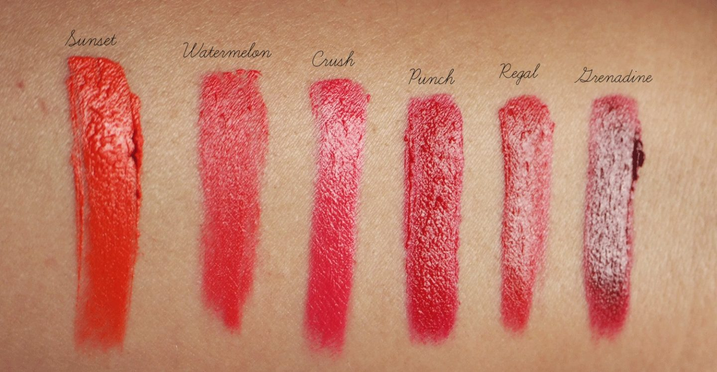 Bobbi Brown Crushed Lip Color Lipsticks Full Swatches Review