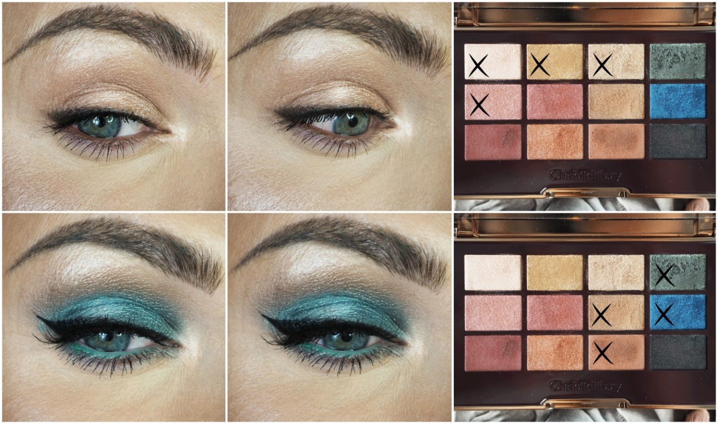 Charlotte Tilbury icons eyeshadow palette eye makeup tutorial