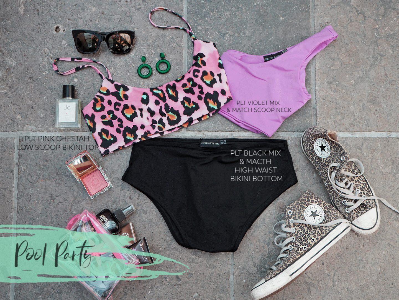 PLT leopard print bikini