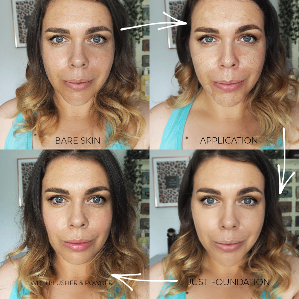 Bareminerals complexion rescue hydrating foundation stick spf25 review before and after