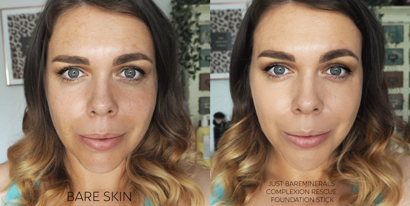 Bareminerals complexion rescue hydrating foundation stick spf25 review