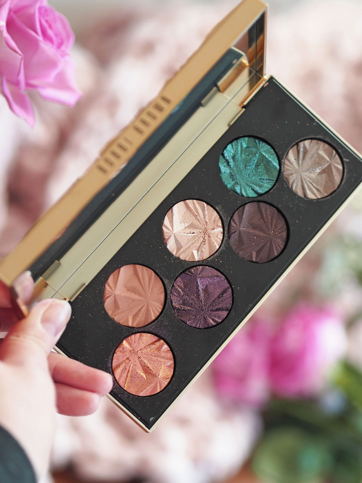 bobbi brown luxe gems eyeshadow palette