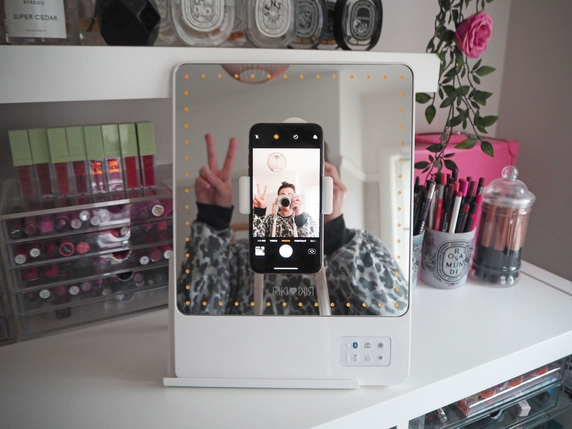 Glamcor Riki Skinny Mirror Review Laura Louise Makeup Beauty