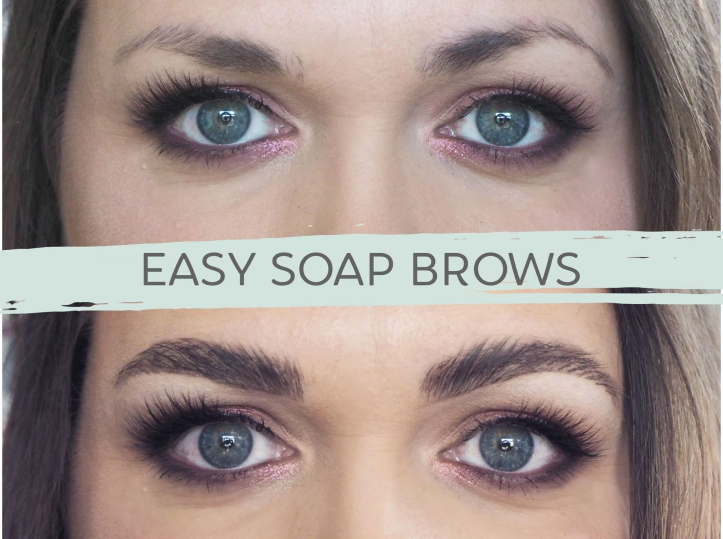 soap brow tutorial