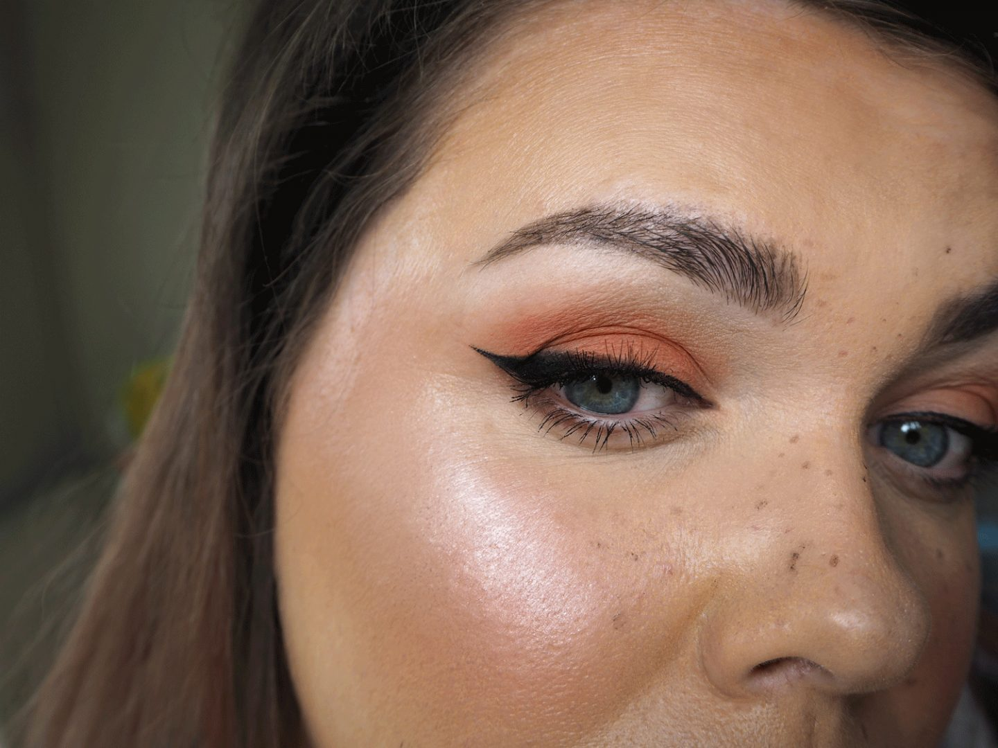 too faced peachy makeup
