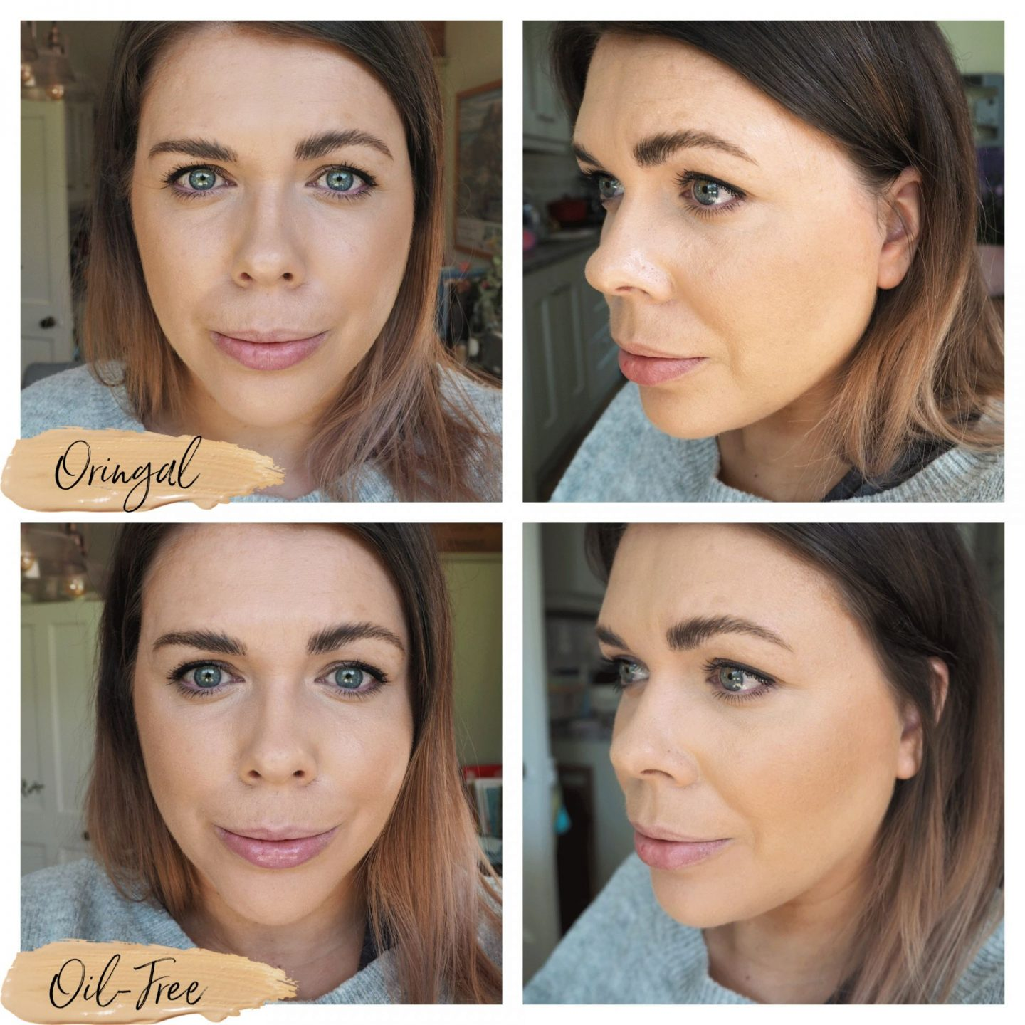 It cosmetics CC cream before and after