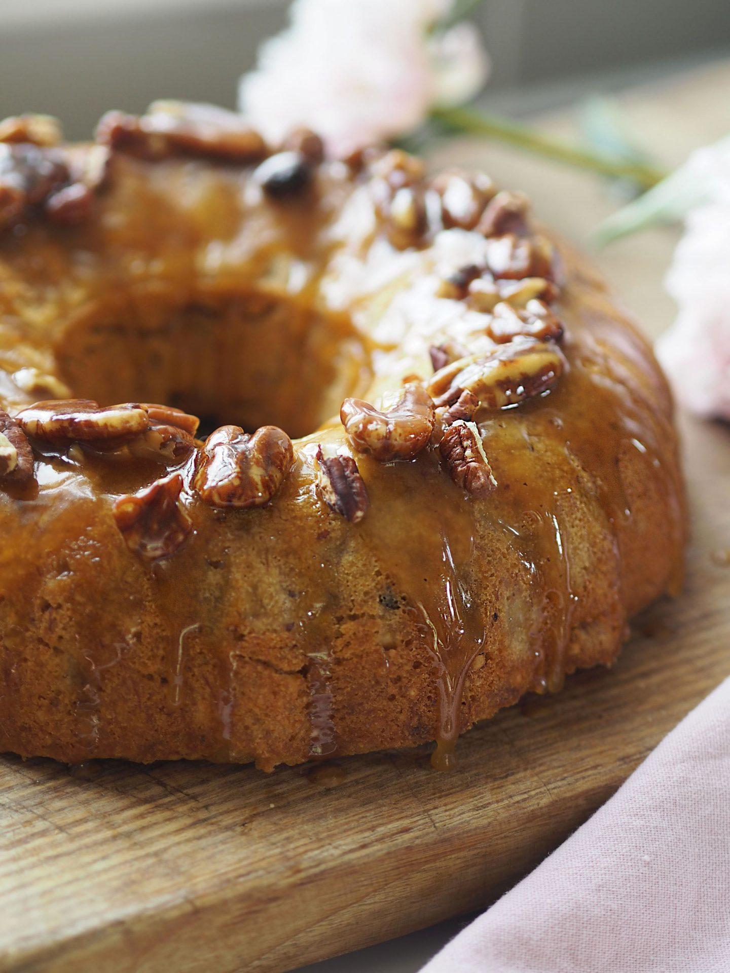 butter maple honey cake