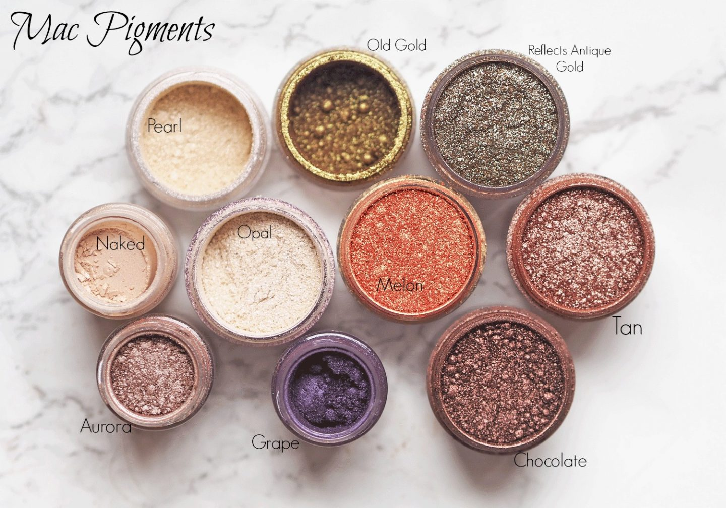 MAc pigments best shades to buy