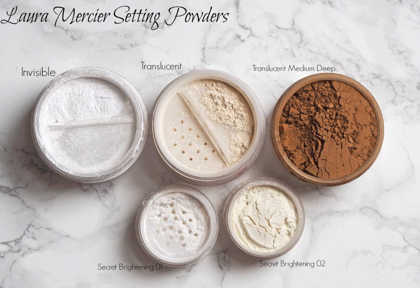 laura mercier setting powders