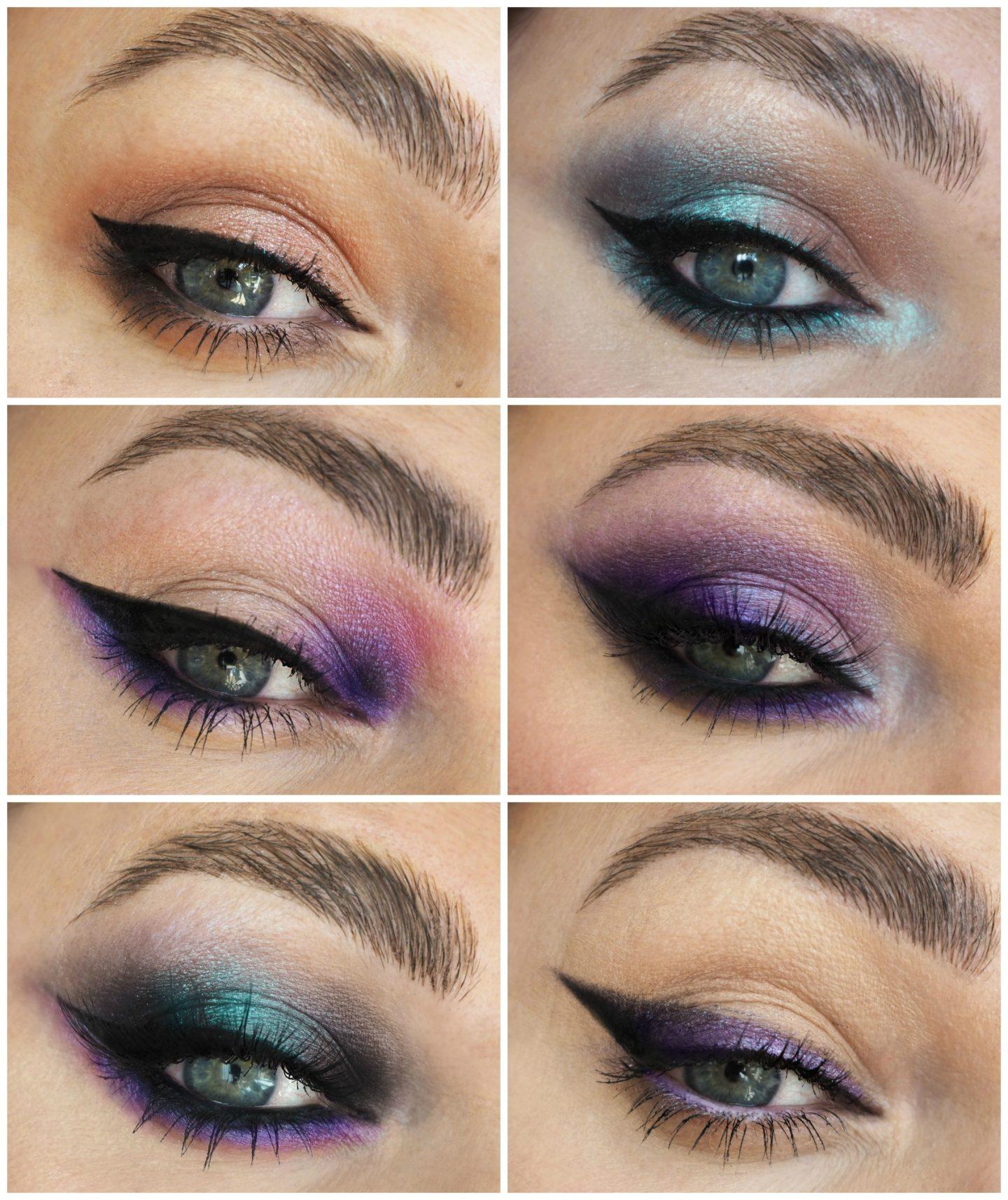 urban decay ultraviolet eyeshadow palette eye makeup looks