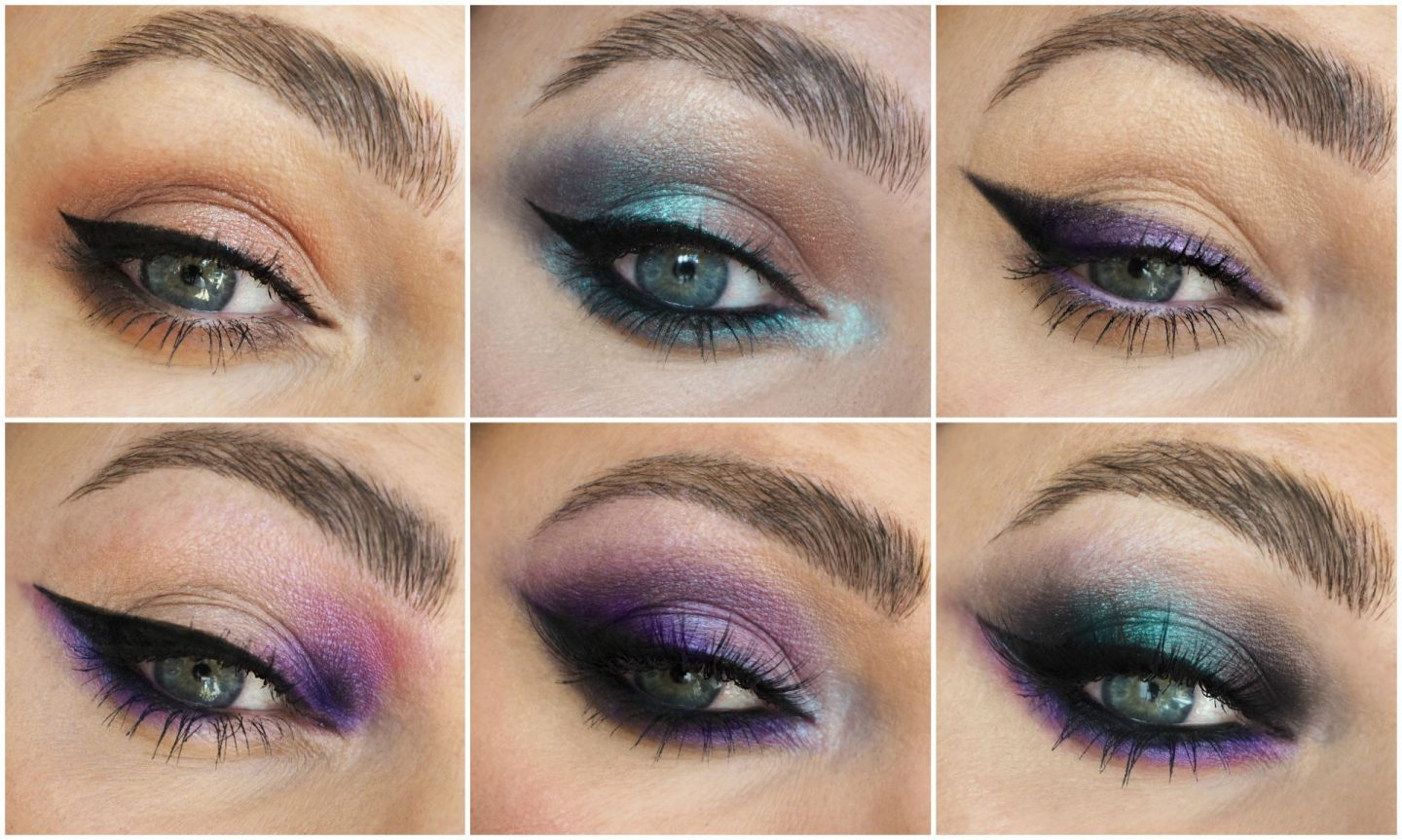 urban decay ultraviolet eyeshadow palette swatches review and eye makeup looks