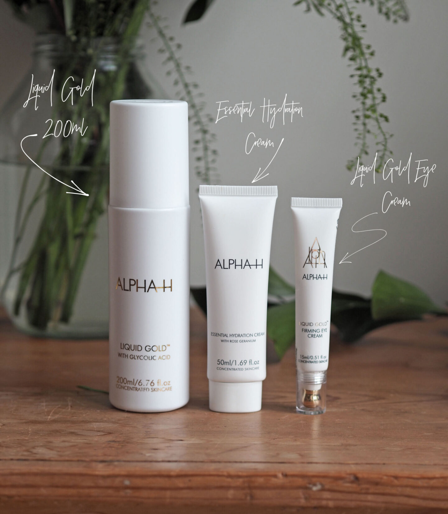 alpha h liquid gold firming & hydrating collection QVC TSV