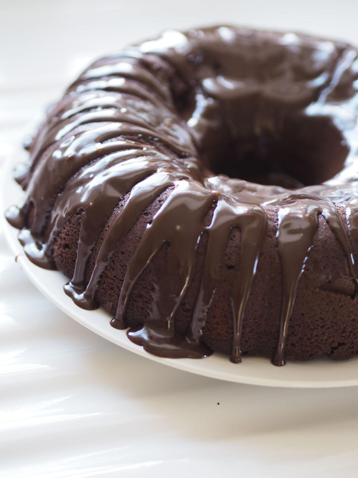 chocolate ganache bundt cake recipe