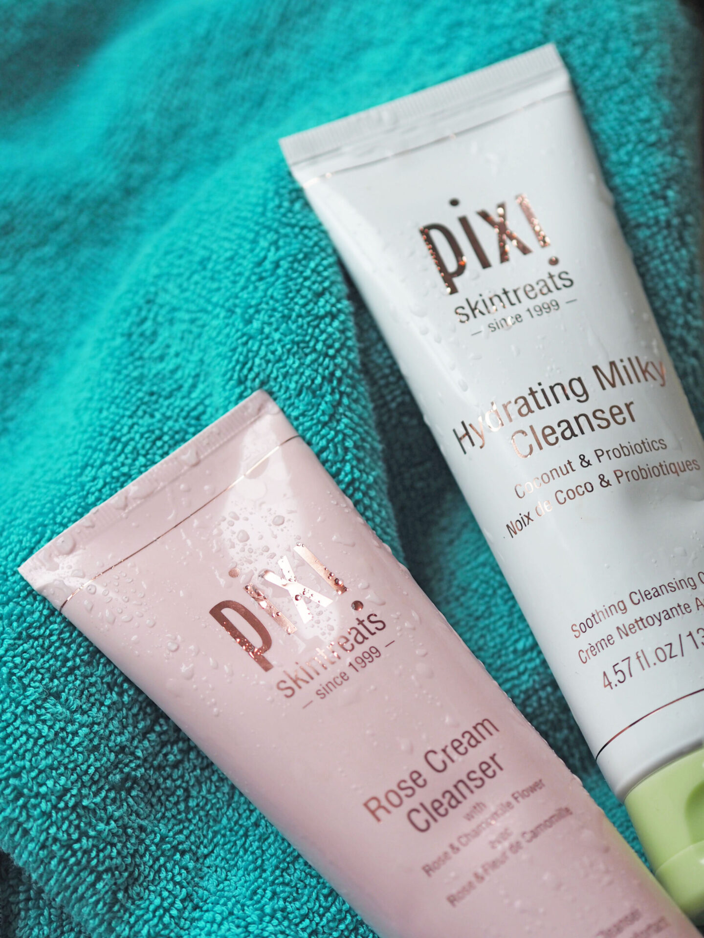 pixi rose cream cleanser review