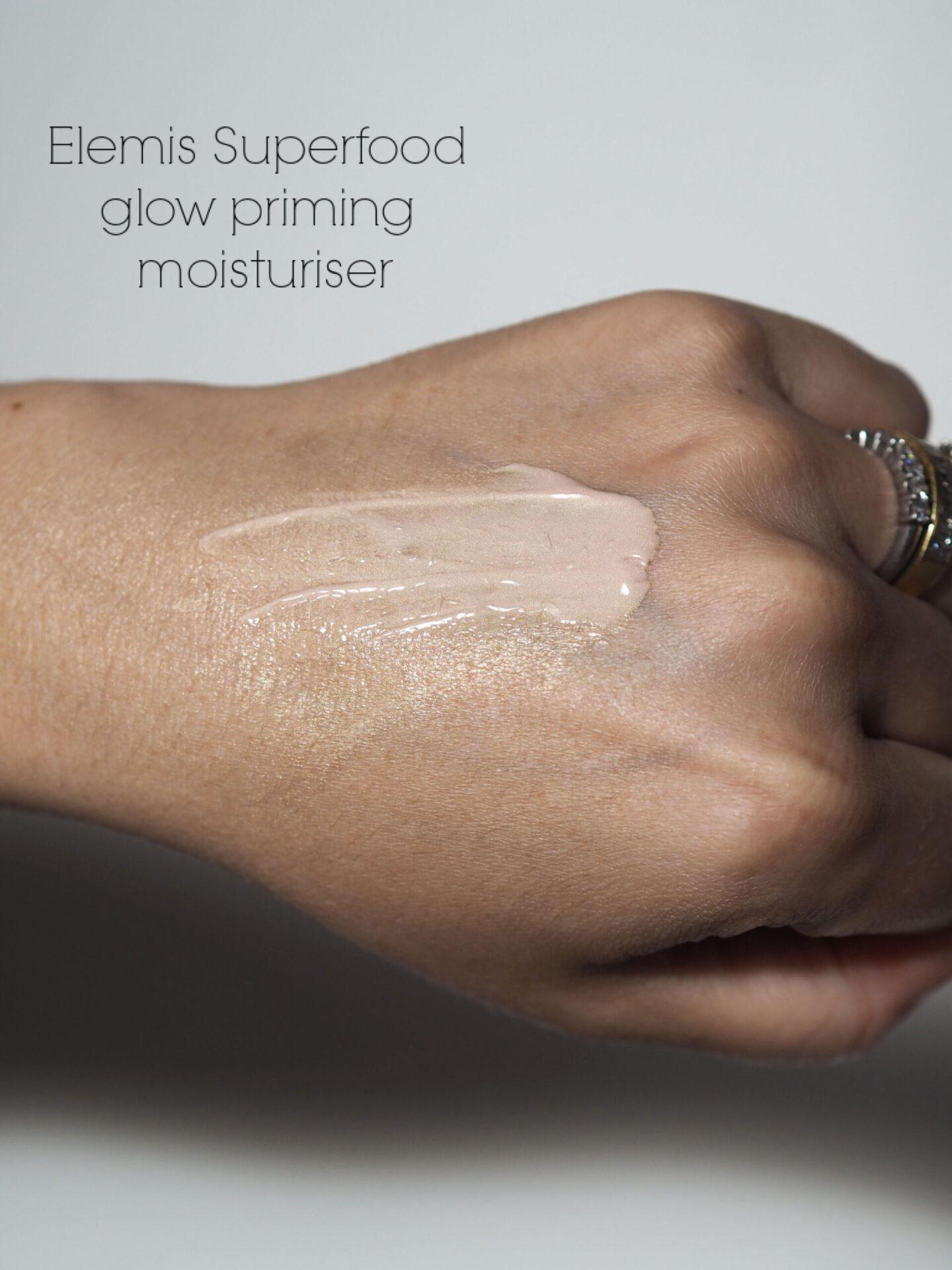 Elemis superfood glow priming moisturiser