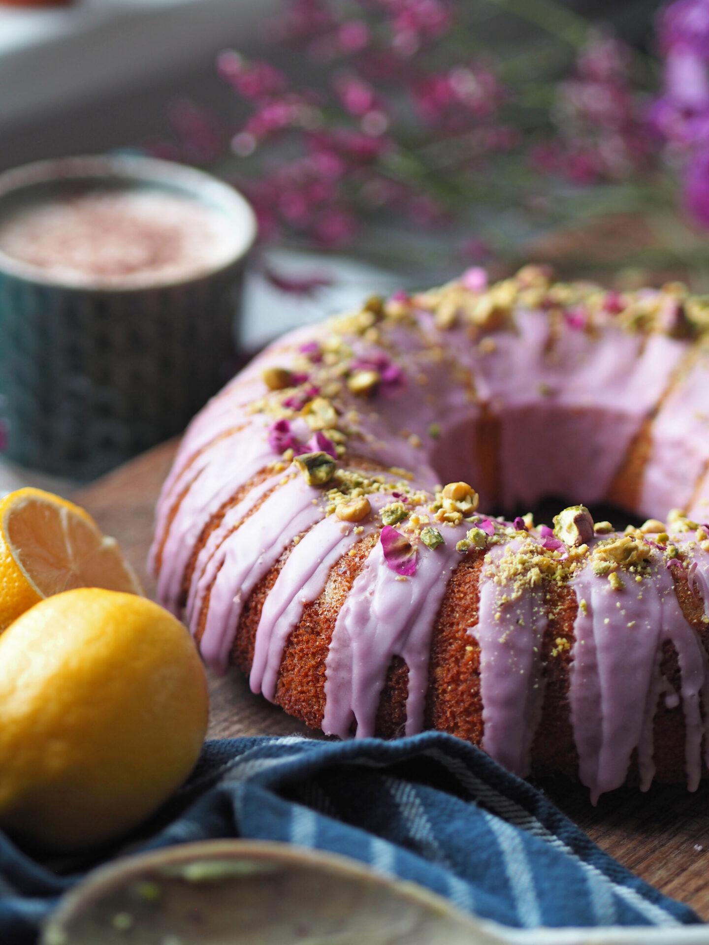 rose and pistachio cake recipe