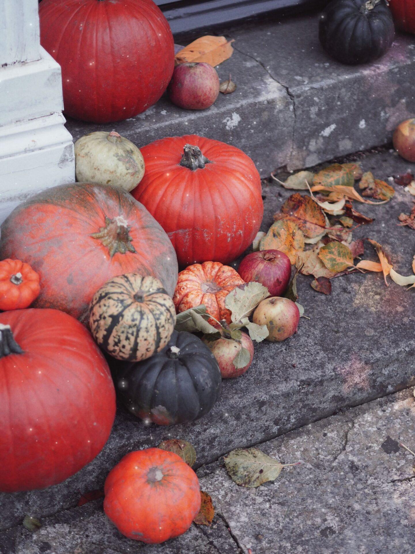 pumpkin door displays
