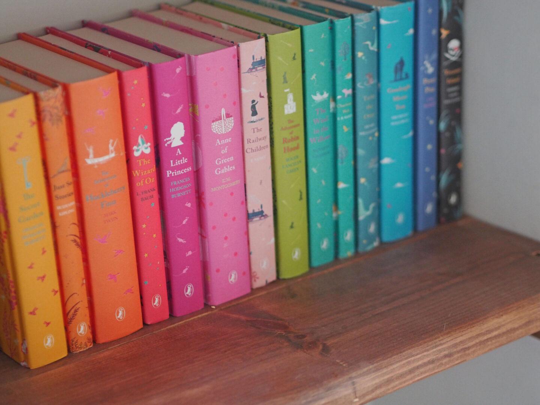 penguin classic rainbow bookshelf