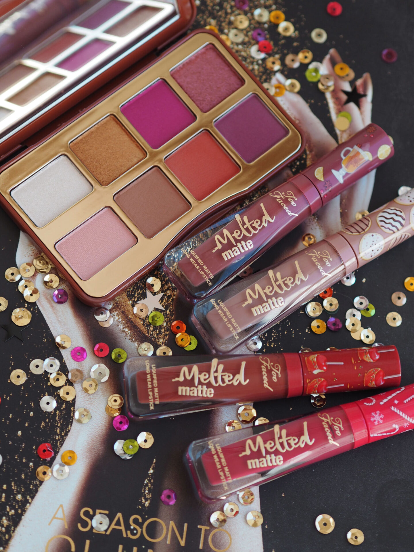 Too Faced Christmas collection 2020