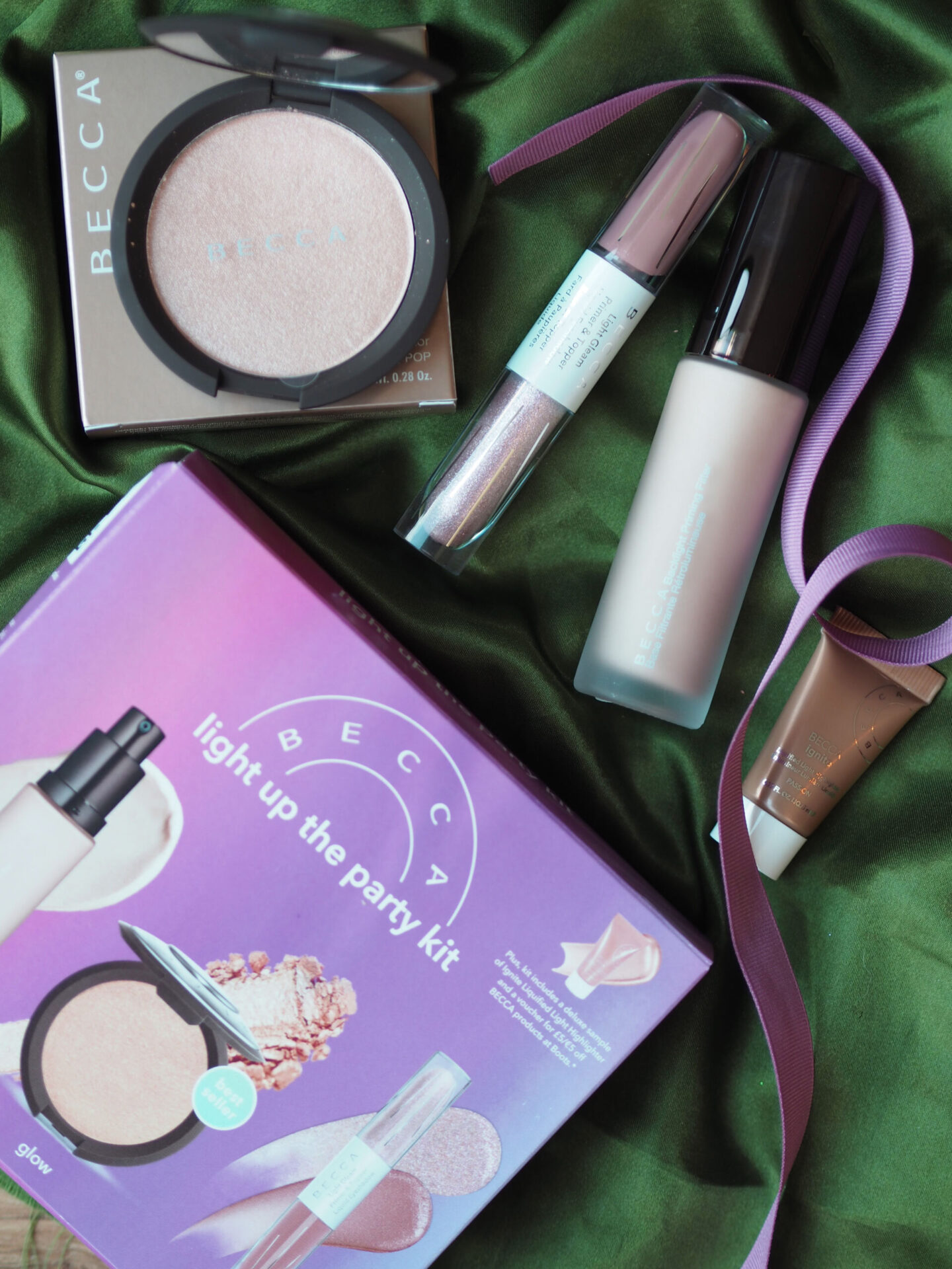 BECCA light up the party kit