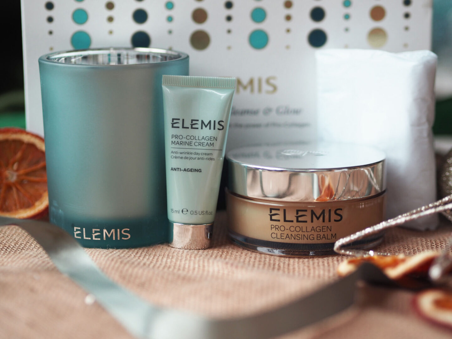 Elemis Pro Collagen Cleanse and Glow Christmas 2020