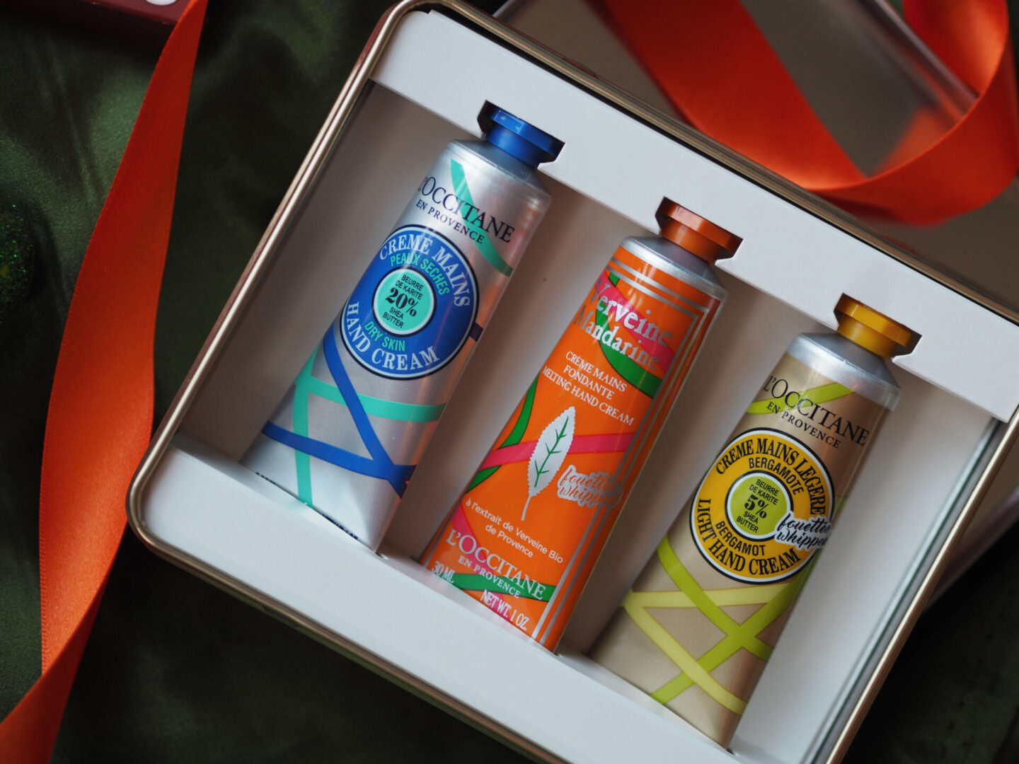 l'occitane hand cream trio set