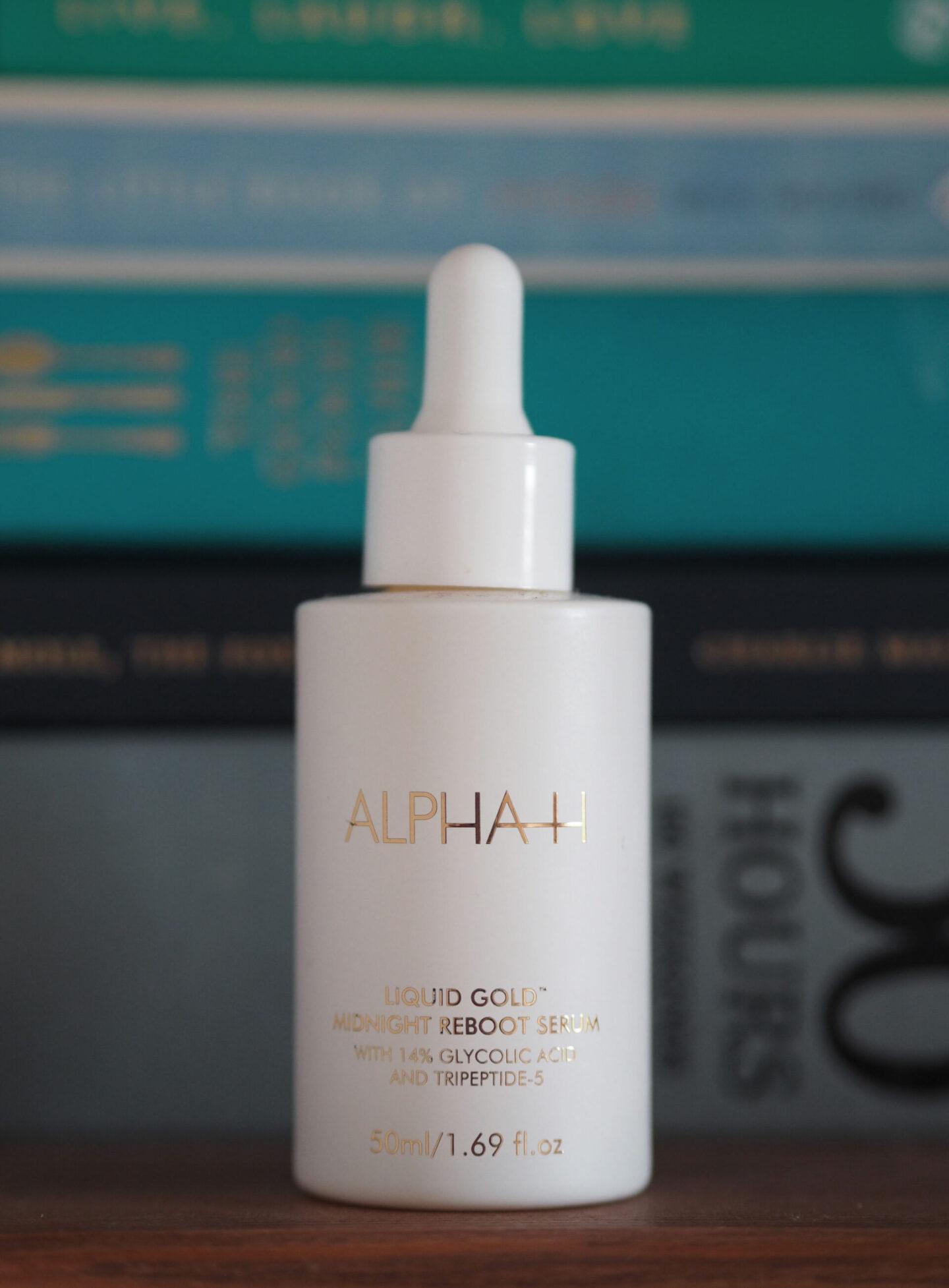 Alpha H liquid gold midnight reboot serum review