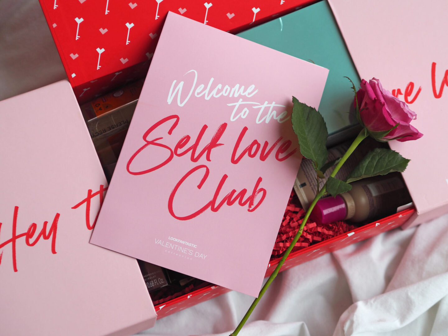 Look Fantastic valentines day collection beauty box