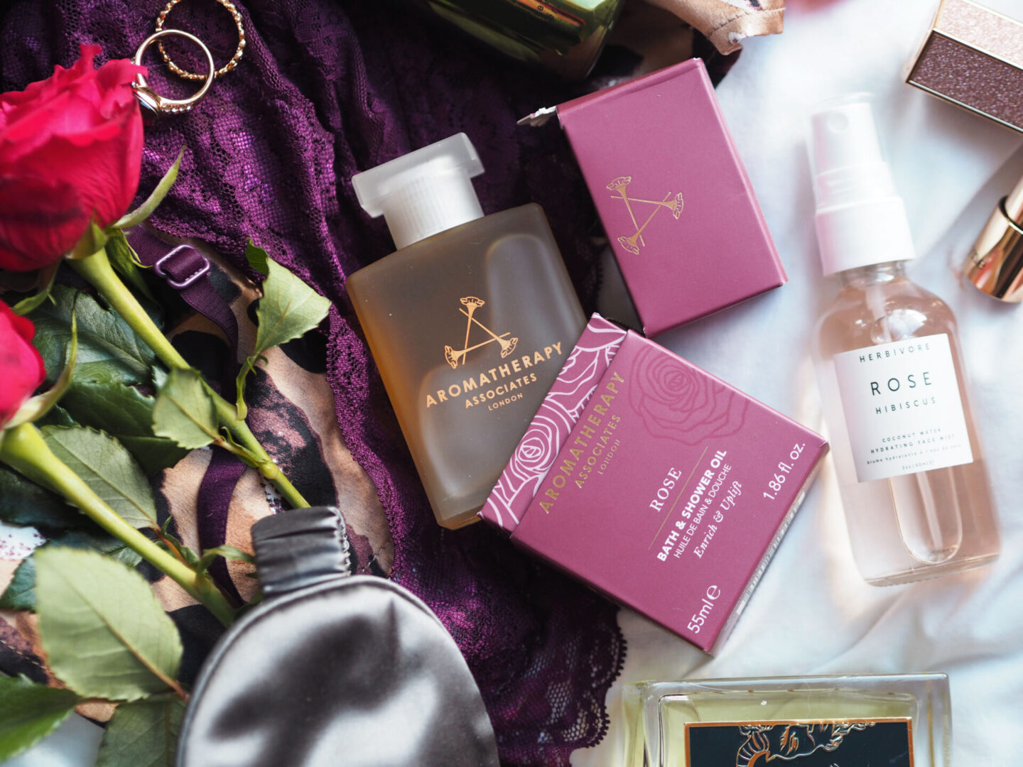 aromatherapy associates rose bath and shower oil