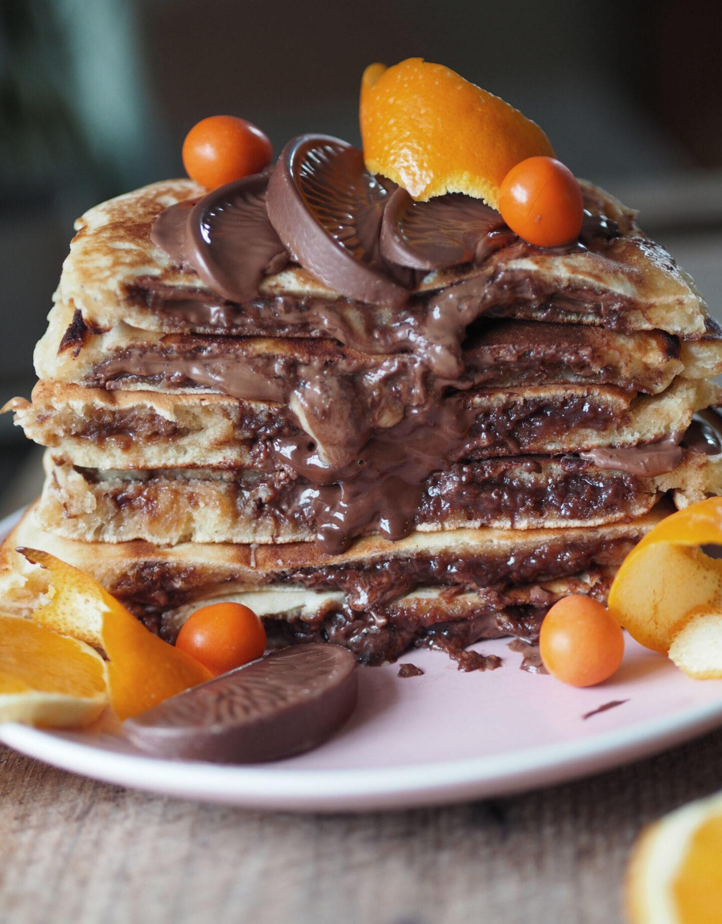 chocolate orange pancake recipe