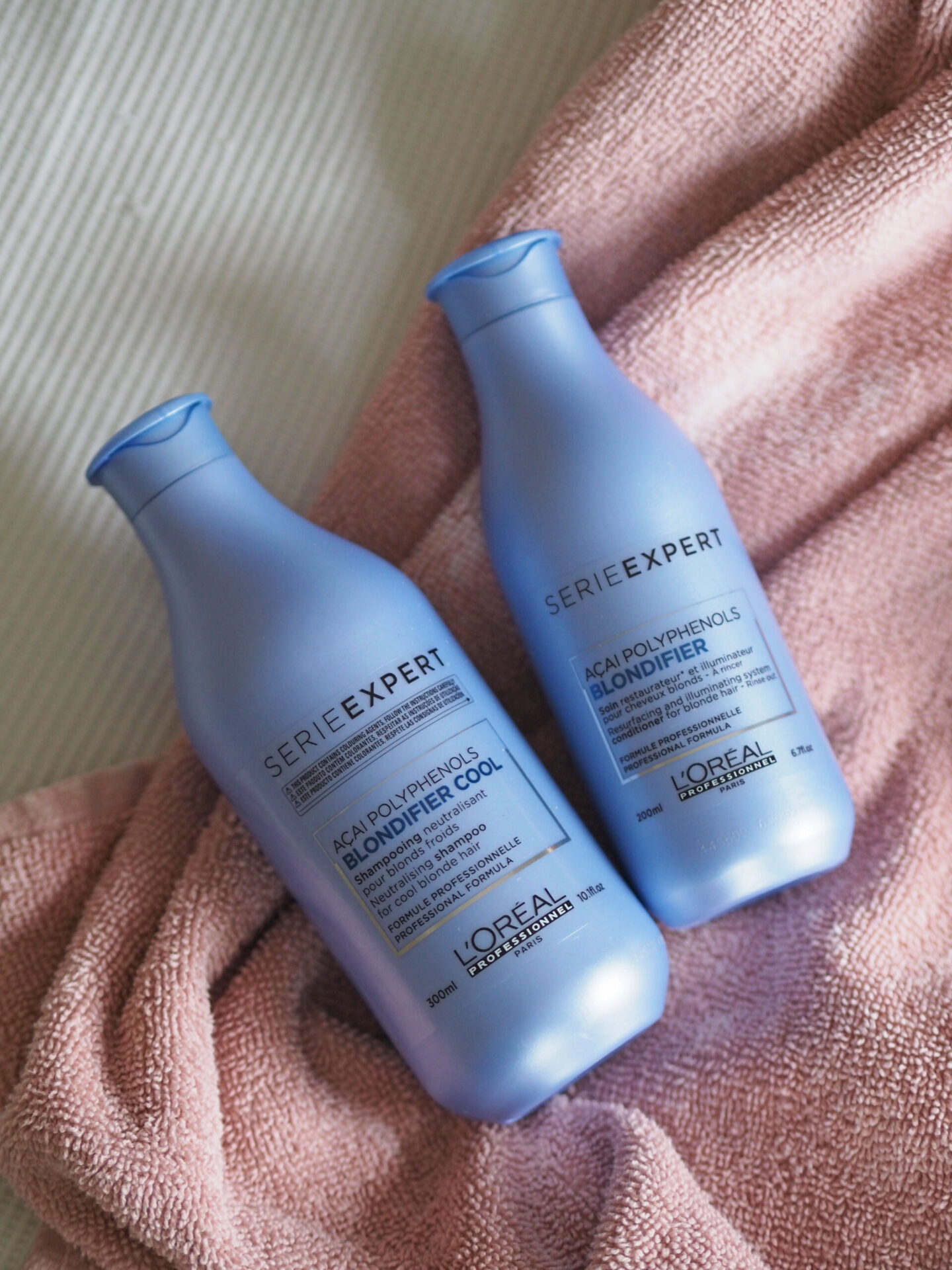 L'Oréal Professional Expert Serie haircare Blondifier range for bleached damaged hair