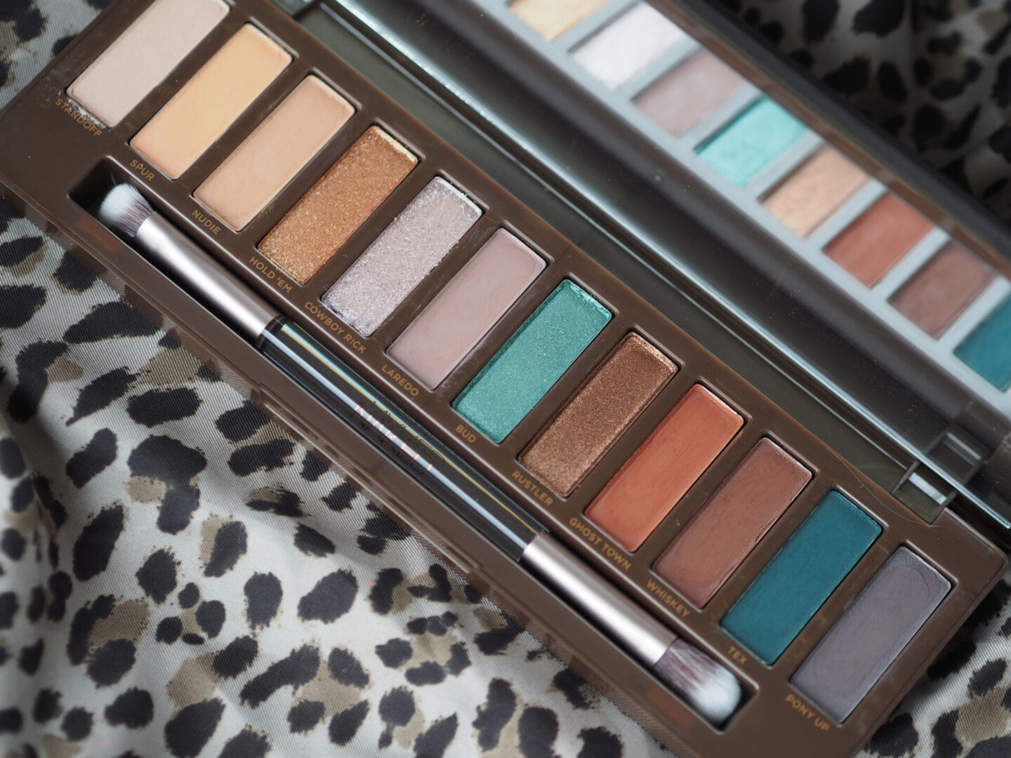 Urban Decay Naked Wild West Eyeshadow palette swatches review