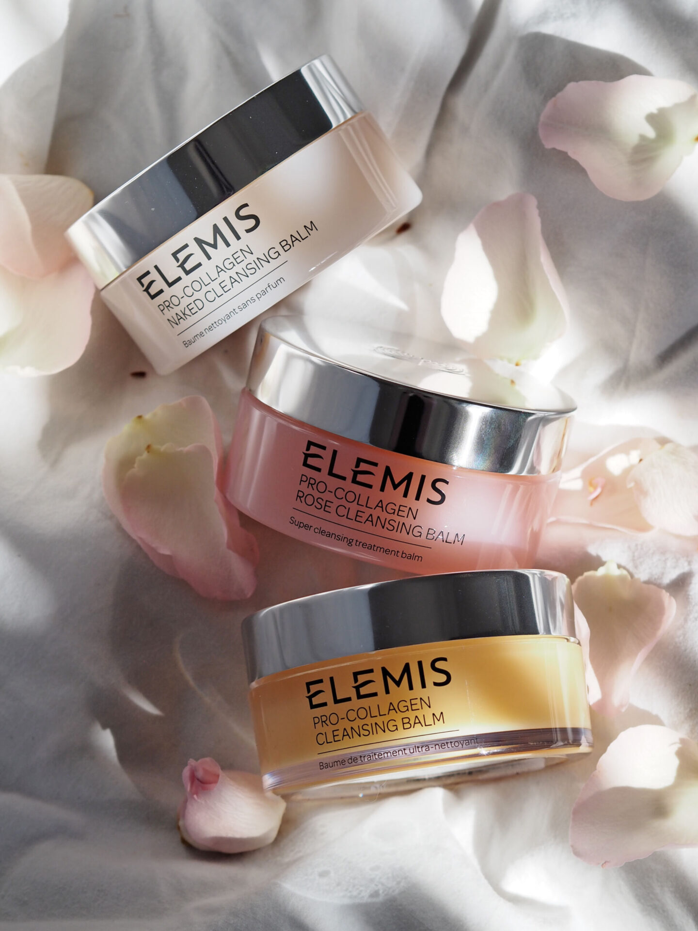 elemis cleansing balms comparison original rose naked