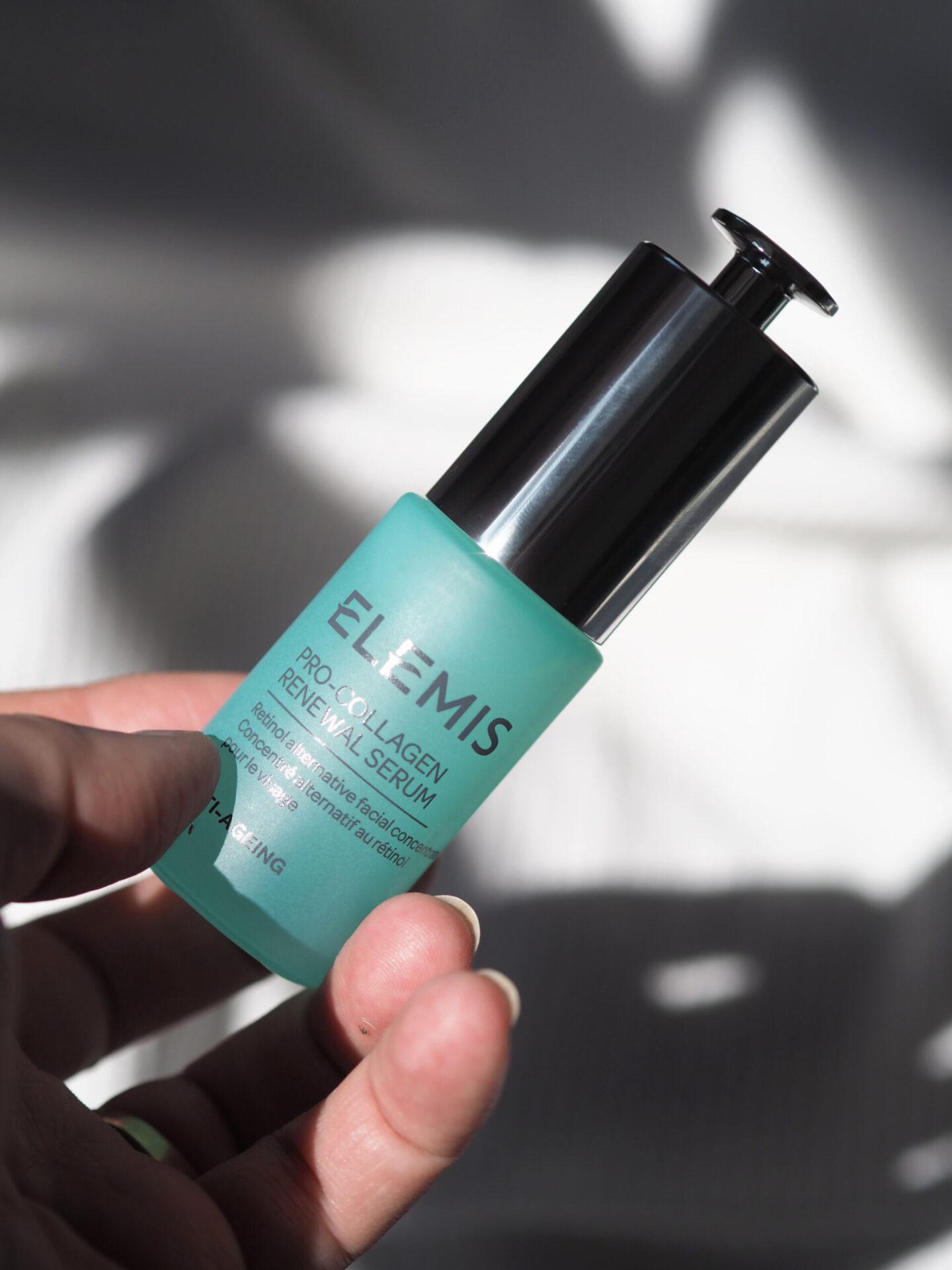 elemis pro collagen renewal serum review