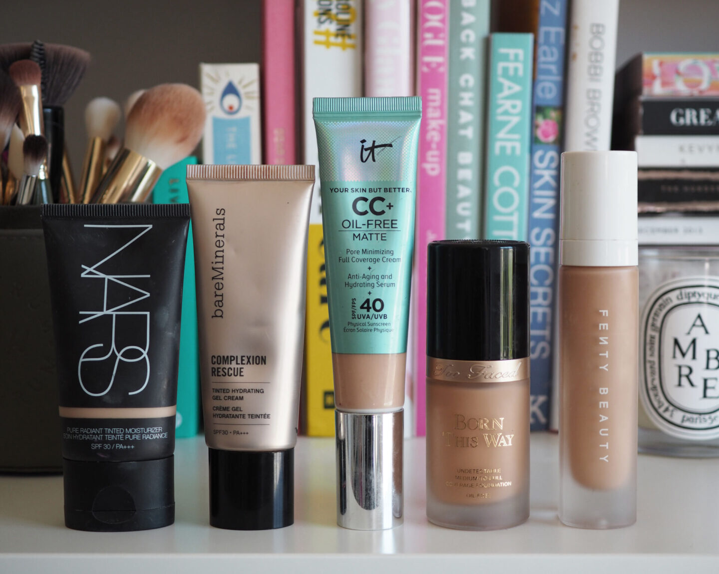 the best oil free foundations