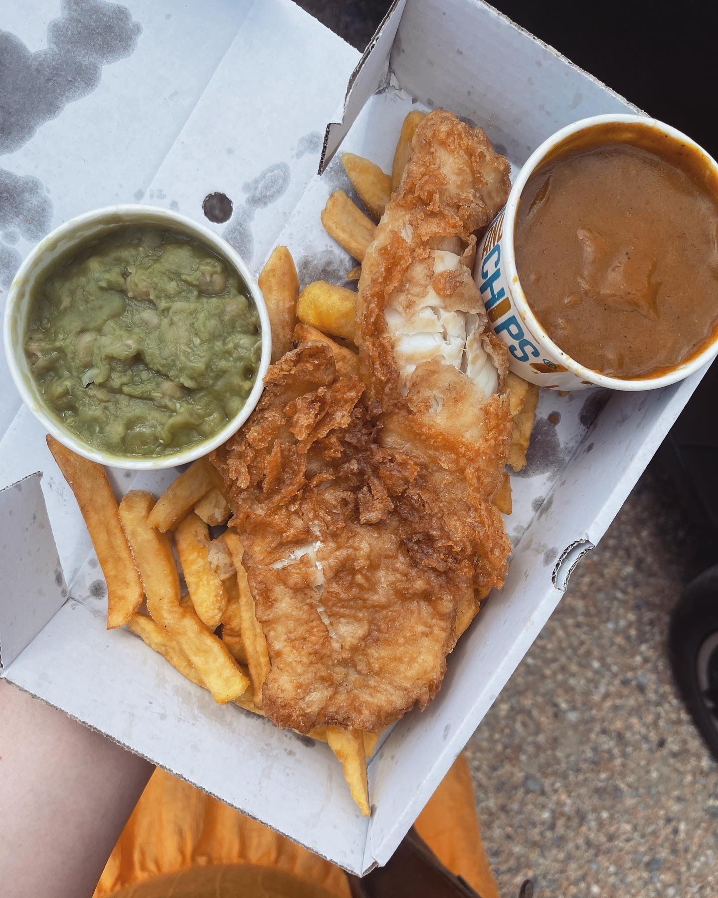 fish and chips dorset west bay