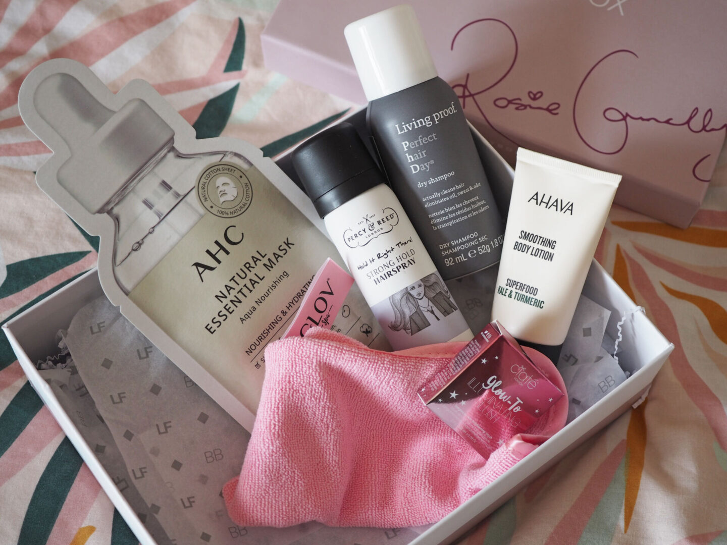look fantastic rosie connolly beauty box