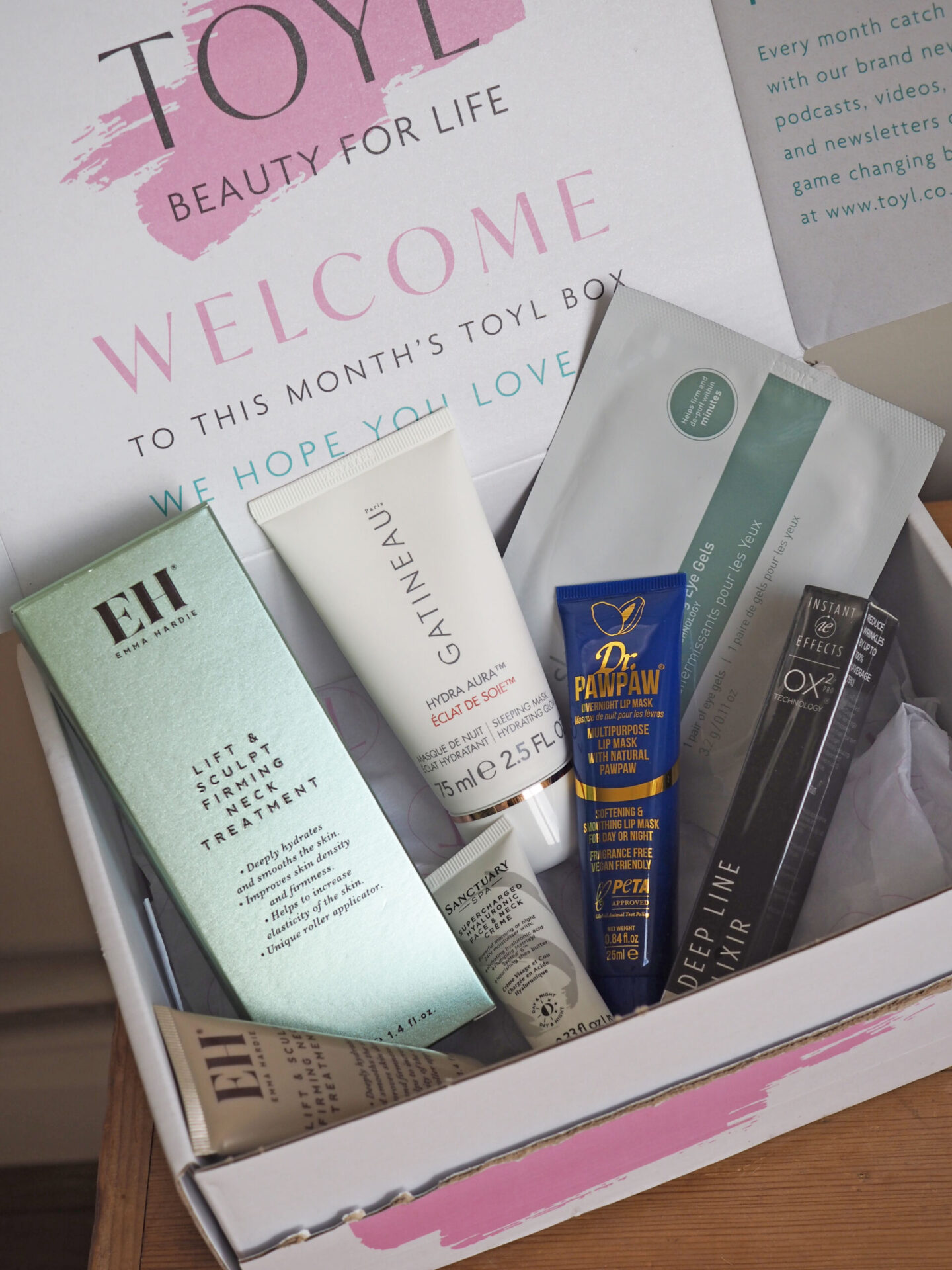 Time of your life TOYL beauty box review
