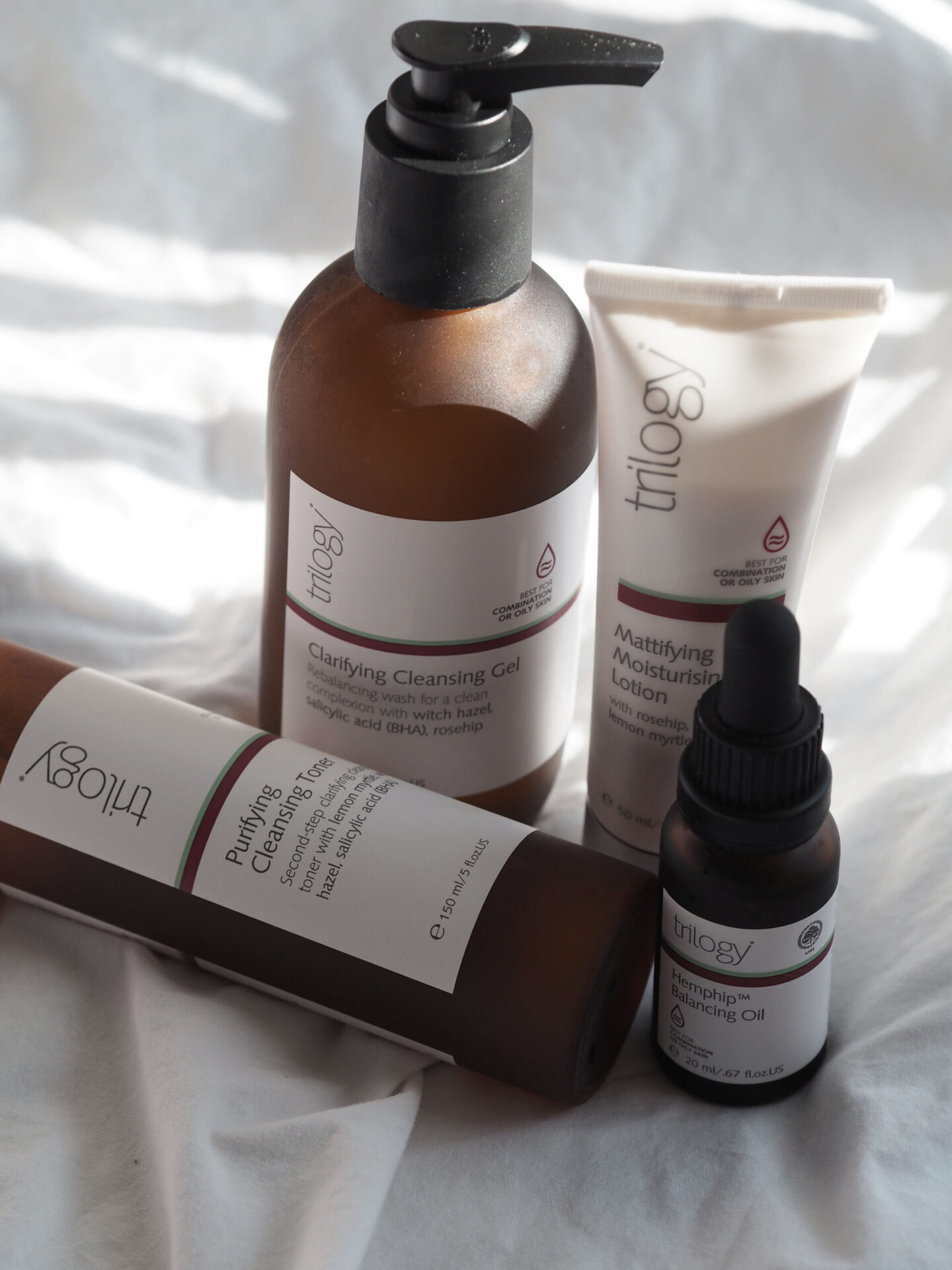 Trilogy Skincare combination range review