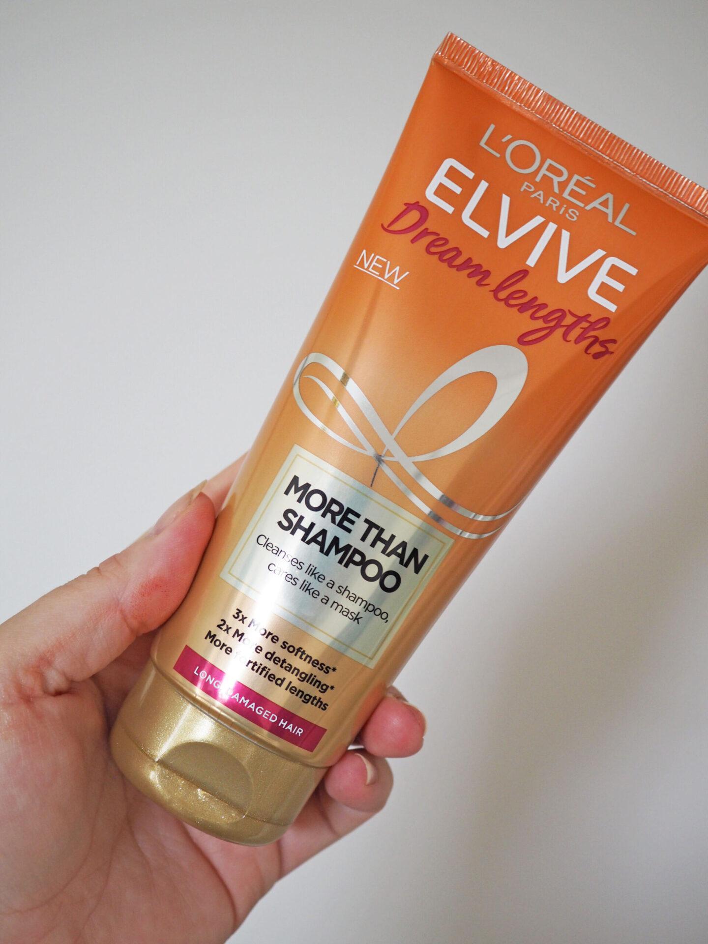 l'oreal elvive dream lengths more than shampoo review
