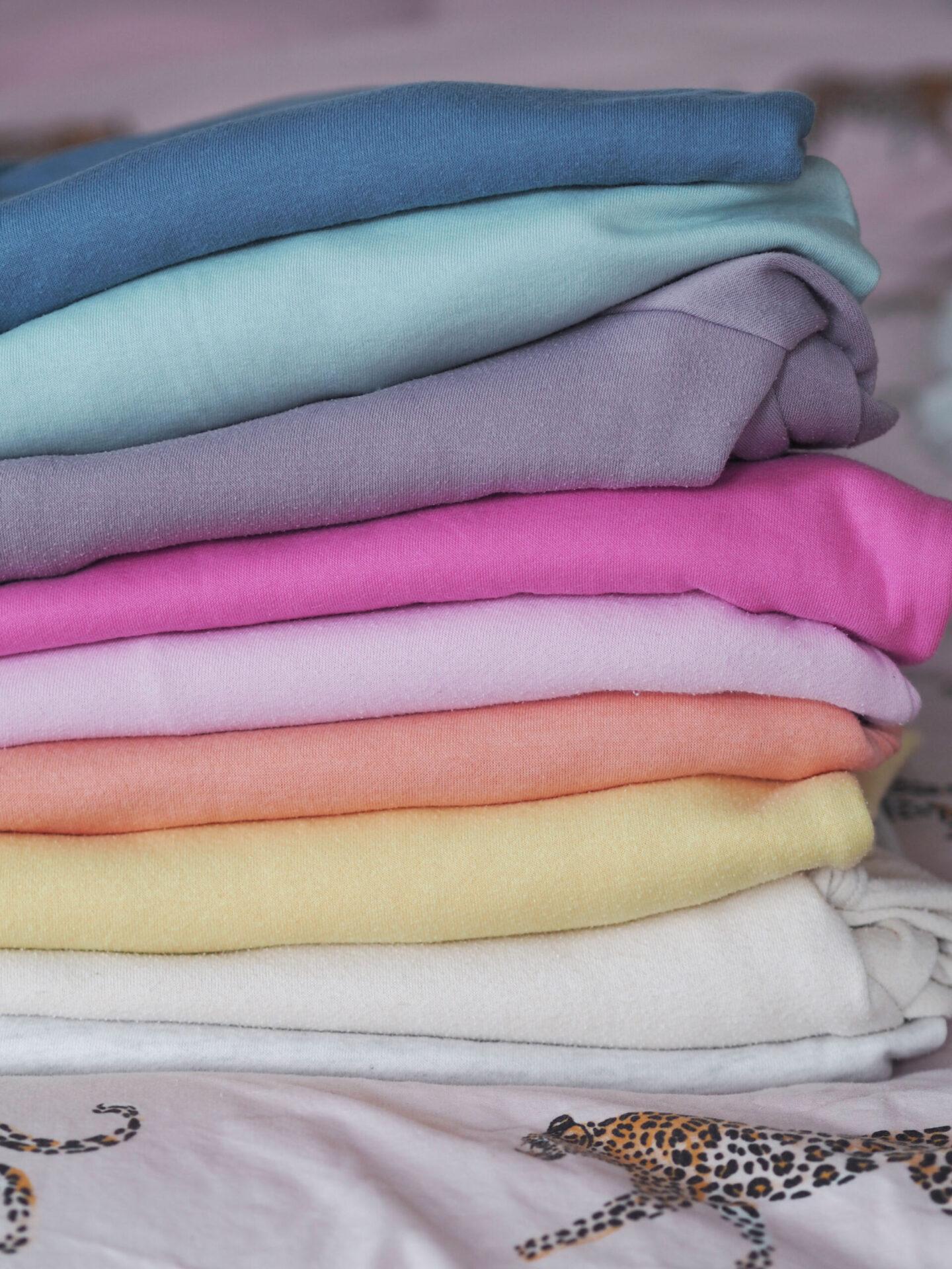 pastel rainbow jumpers