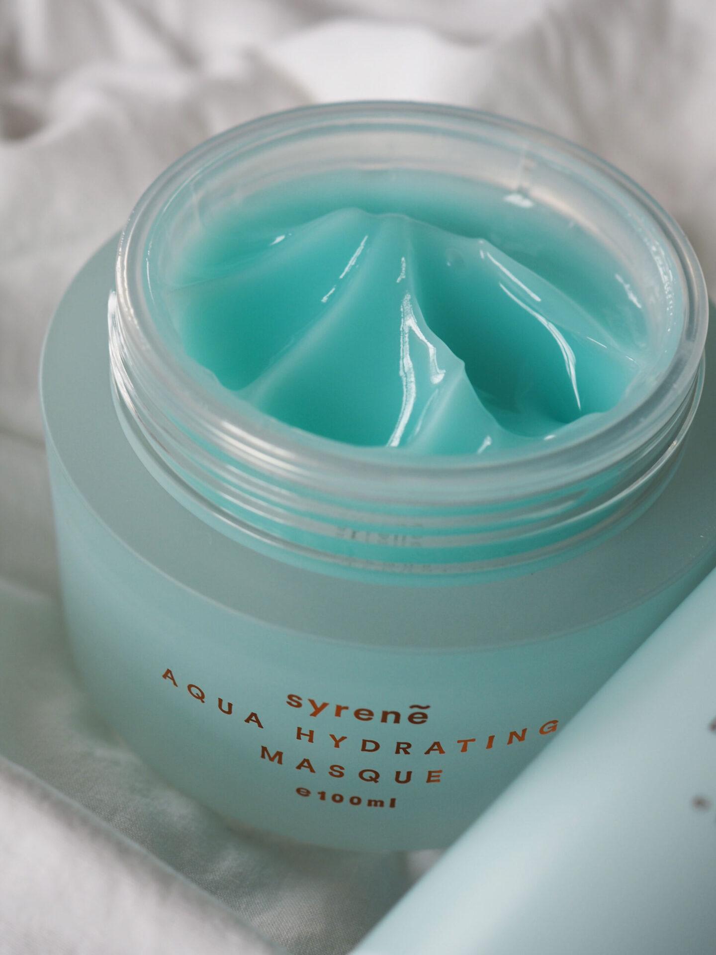 syrene skincare aqua hydrating mask