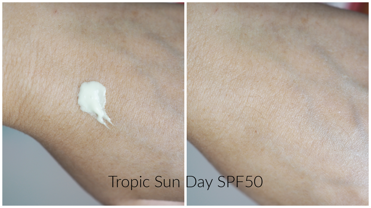 tropic sun day spf50 review