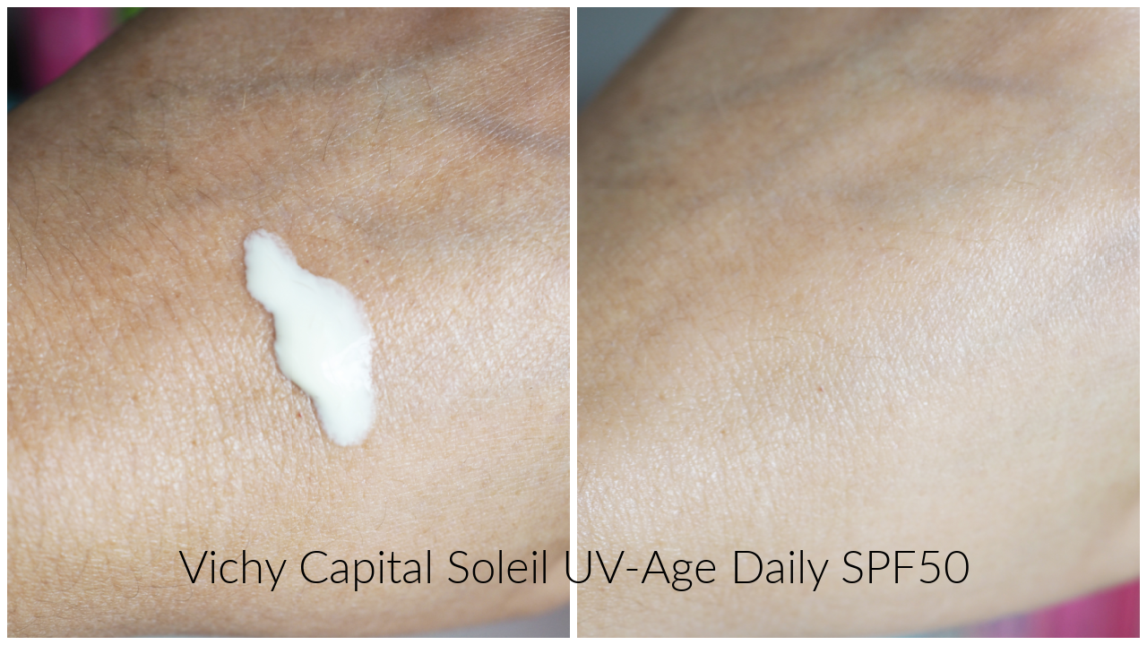 vichy capital soleil uv age daily SPF50 review