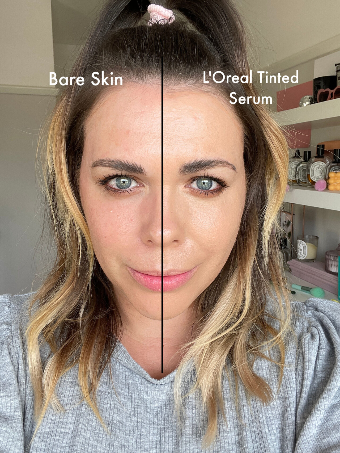 L'Oreal True Match Plumping Tinted Serum review before and after
