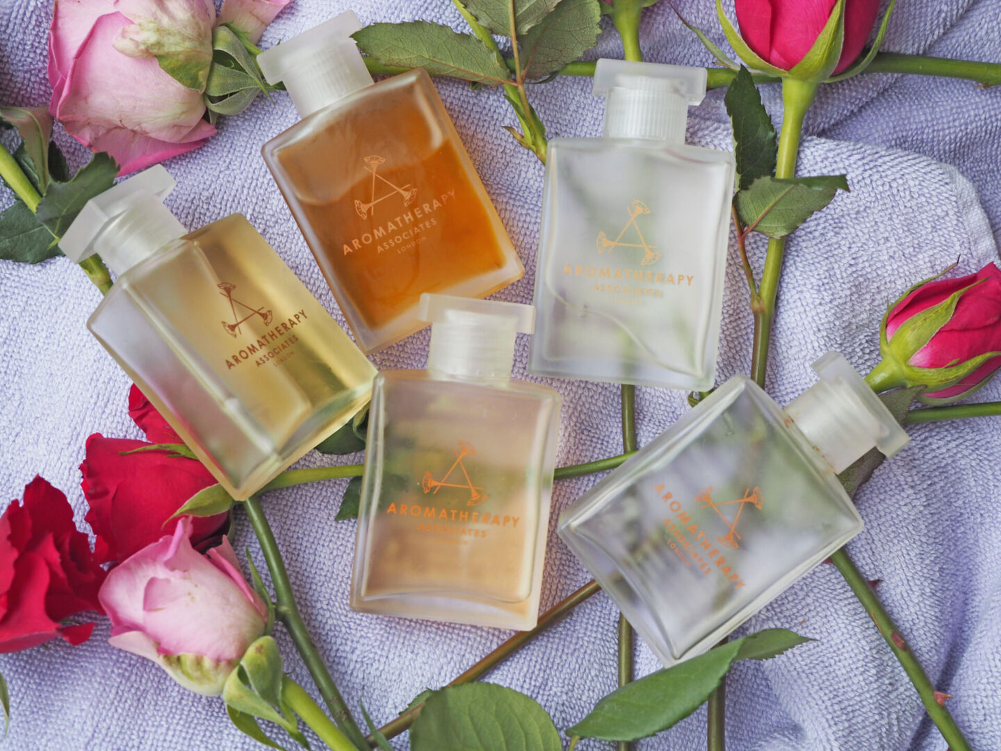 aromatherapy associates bath and shower oils review and overview